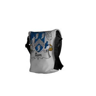 Ram Family Crest Messenger Bag