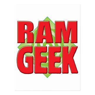 Ram Geek v2 Postcard