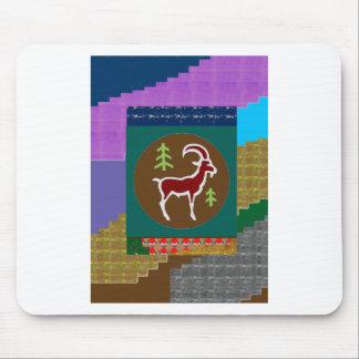 RAM Goat Symbol Animal Zodiac Astrology goodluck Mouse Pad