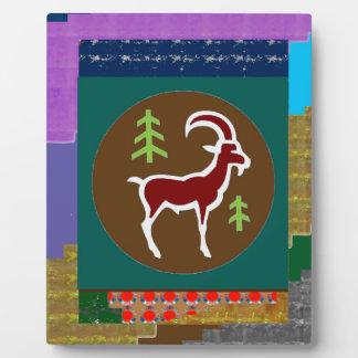 RAM Goat Symbol Animal Zodiac Astrology goodluck Photo Plaque