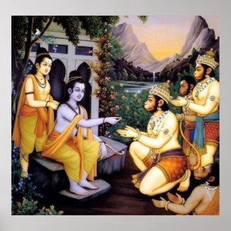 Ram-hanuman Poster