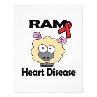 """RAM Heart Disease 8.5"""" X 11"""" Flyer"""