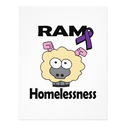 RAM Homelessness Custom Flyer