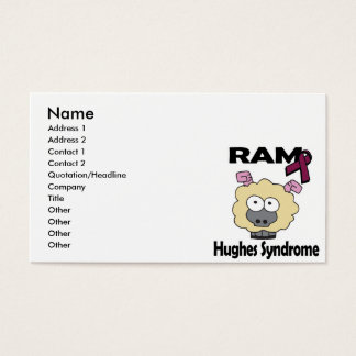 RAM Hughes Syndrome Business Card
