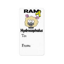 RAM Hydrocephalus Label