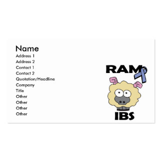 RAM IBS Double-Sided STANDARD BUSINESS CARDS (Pack OF 100)