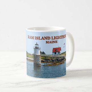 Ram Island Lighthouse, Boothbay Harbor Maine Mug