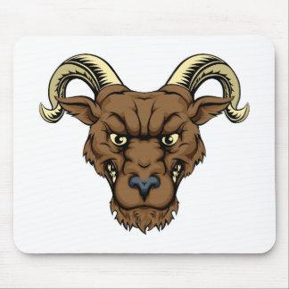 Ram mascot head mouse mat