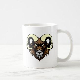 Ram Mean Animal Mascot Coffee Mug