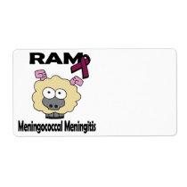 RAM Meningococcal Meningitis Label