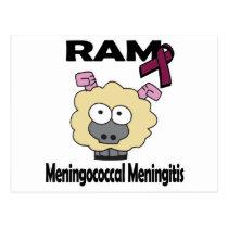 RAM Meningococcal Meningitis Postcard