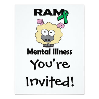 RAM Mental Illness (green) Card