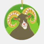Ram Ornament