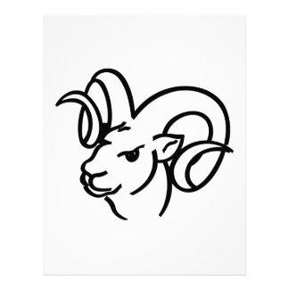 Ram Outline Letterhead