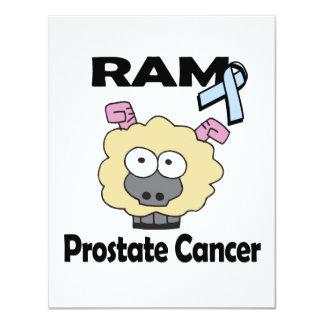 RAM Prostate Cancer 4.25x5.5 Paper Invitation Card