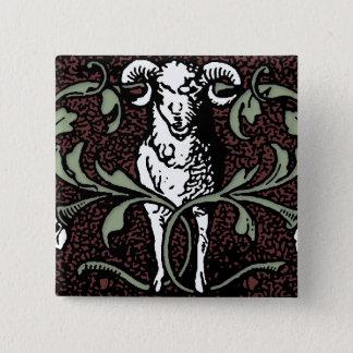 Ram Scroll Pinback Button