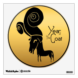 Ram Sheep or Goat Year - Wall Decal