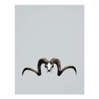 Ram skull letterhead