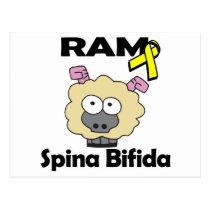 RAM Spina Bifida Postcard