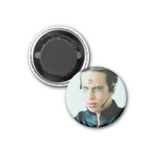 Ram The Tribe 1 Inch Round Magnet