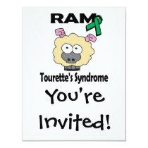 RAM Tourettes Syndrome Card