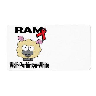 RAM Wolf-Parkinson-White Shipping Label