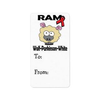 RAM Wolf-Parkinson-White Address Label