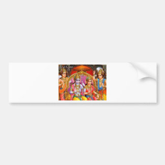 RAMA AND SITA BUMPER STICKER