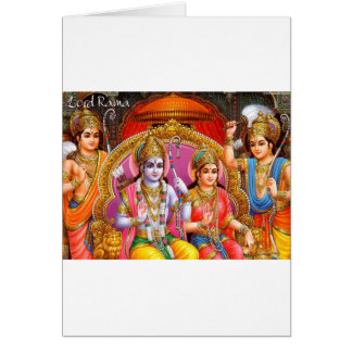 RAMA AND SITA CARD