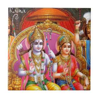 RAMA AND SITA TILE