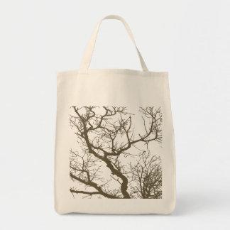 Rama de árbol bolsas de mano