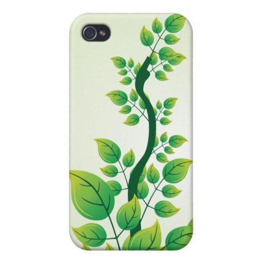 Rama de árbol - plantilla del personalizar iPhone 4 funda