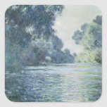 Rama de Claude Monet el | del Sena cerca de Pegatina Cuadrada