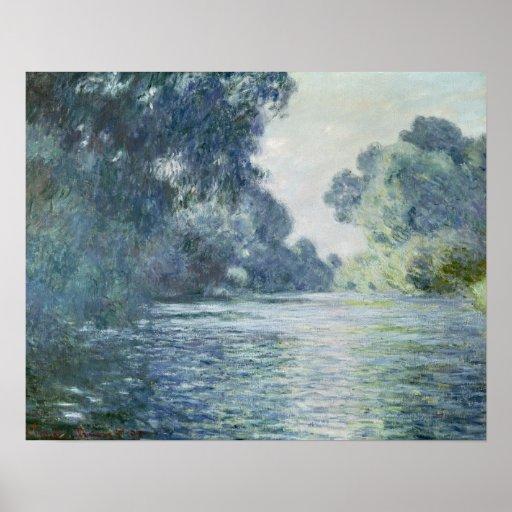 Rama de Claude Monet el | del Sena cerca de Póster