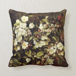 Rama de Courbet de la almohada de los flores de Ap