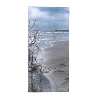 Rama de la playa servilletas
