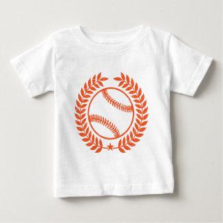 Rama de olivo y estrella del béisbol tshirts