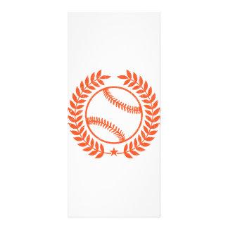 Rama de olivo y estrella del béisbol tarjetas publicitarias personalizadas