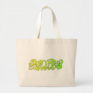 rama decorativa bolsa tela grande