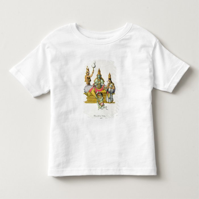 Rama, engraved by du Bouisi (colour litho) Toddler T-shirt