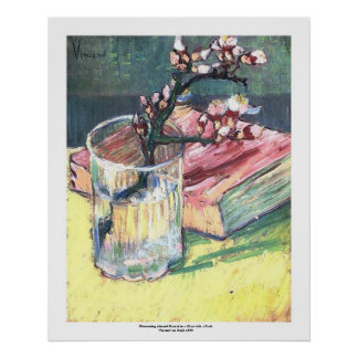 Rama floreciente de la almendra de Vincent van Gog Impresiones