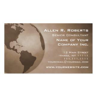 Rama global de Américas del comercio corporativa Tarjetas De Visita
