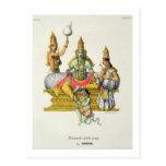 Rama, grabado por du Bouisi (litho del color) Tarjetas Postales