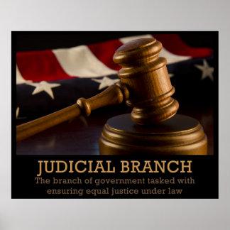 Rama judicial póster