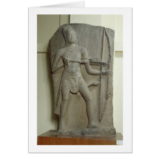 Rama, Kanchipuram, Tamil Nadu, Pallava dynasty (gr Card
