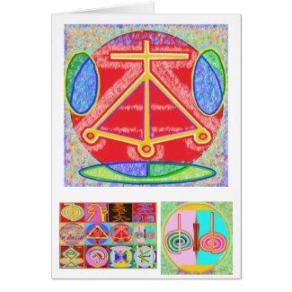RAMA - Karuna Reiki Healing Sign by Navin Joshi card