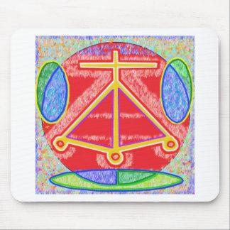 RAMA - Karuna Reiki Healing Sign by Navin Joshi Mouse Pad