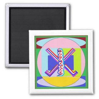 RAMA  - Karuna REIKI Healing Symbol 2 Inch Square Magnet