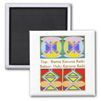 RAMA - Karuna Reiki 2 Inch Square Magnet