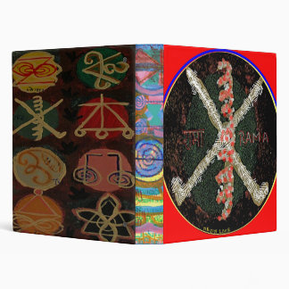 RAMA - KARUNA Reiki Symbols 3 Ring Binder